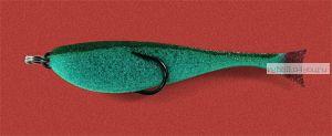 Поролоновая рыбка OnlySpin Bait 110 мм / упаковка 5 шт / цвет: зеленый