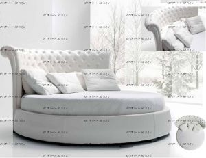 Кровать круглая Амстердам 1023