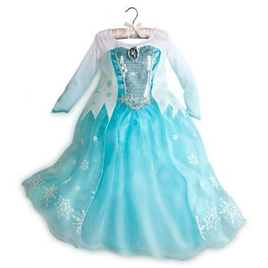 Костюм Эльзы Люкс - Elsa Frozen на рост  140 см (9-10 лет)