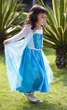 Платье Эльза Холодное сердце 130
