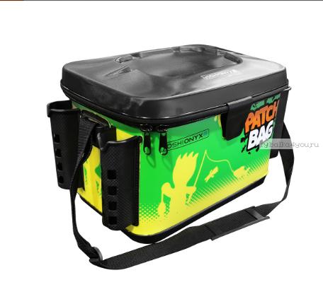 Сумка Yoshi Onyx Patch Bag 40х26х27, желто-зеленая