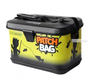 Сумка Yoshi Onyx Patch Bag 40х26х27, черно-желтая