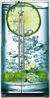 Наклейка на холодильник - Lime