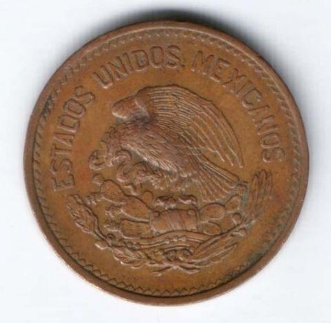 20 сентаво 1953 г. AUNC Мексика