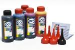 Чернила OCP для принтера и МФУ Canon MG5740, MG6840, TS5040, TS6040 (BK35, BK153, C153, M153, Y153) Safe Set, комплект 100 гр. x 5