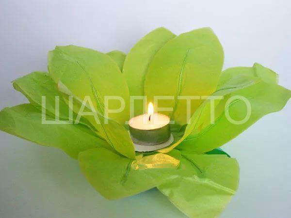 Водный фонарик зеленый