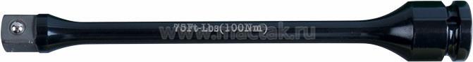 """Удлинитель торсионный 1/2"""", 195 мм, с ограничителем крутящего момента 100 Нм KING TONY 4269-08-A0"""