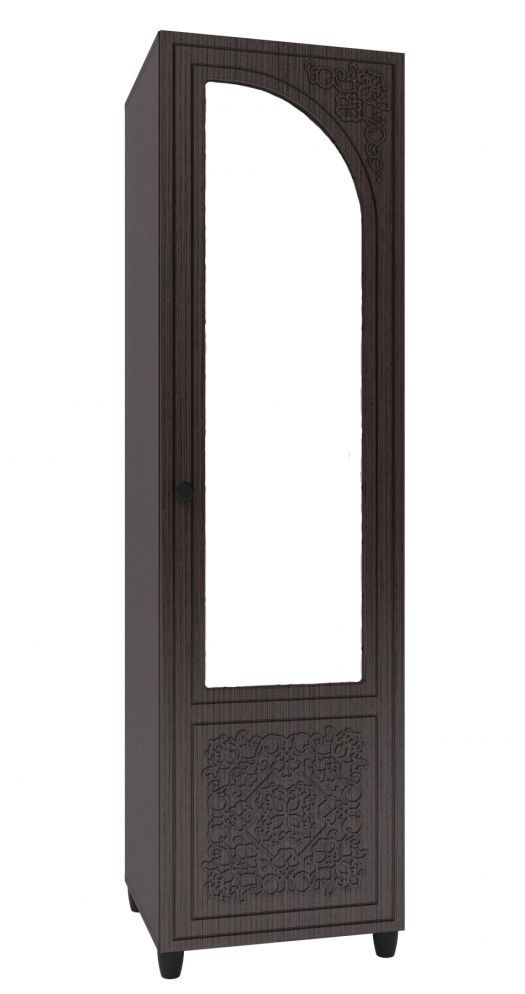 Стеллаж - зеркало правый СО-13  (к спальне Соня Премиум)