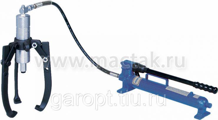 Съёмник подшипников гидравлический, 12 т, до 375 мм, 3 предмета МАСТАК 104-19312