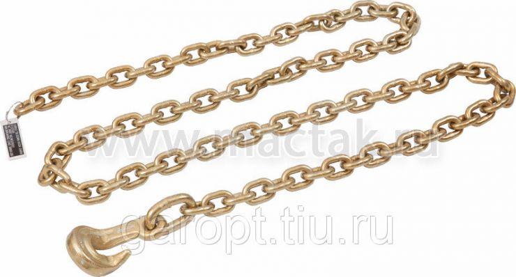 Цепь рихтовочная с крюком, 6 т, 2,7 м МАСТАК 114-11276