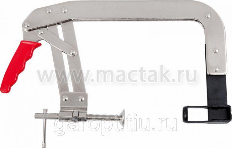 Рассухариватель клапанов, 35-150 мм, струбцина МАСТАК 103-11150