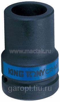 "Головка торцевая глубокая ударная четырехгранная 1"", 19 мм, футорочная KING TONY 853419M"