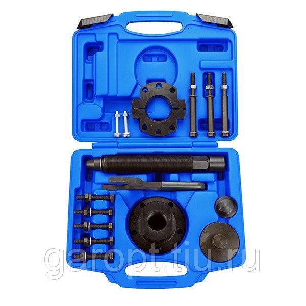 Набор оправок для монтажа и демонтажа ступичных подшипников FORD, кейс, 17 предметов МАСТАК 100-30017C