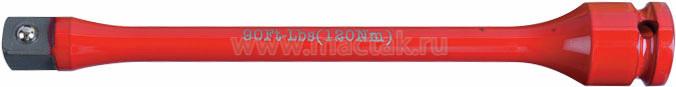 """Удлинитель торсионный 1/2"""", 195 мм, с ограничителем крутящего момента 120 Нм KING TONY 4269-08-C0"""