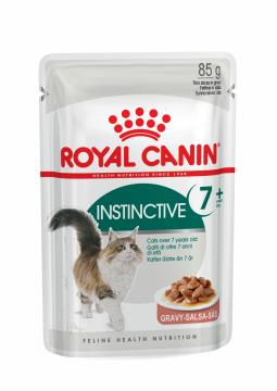 Роял канин Инстинктив +7 в соусе пауч (Instinctive +7 Gravy) 85г.