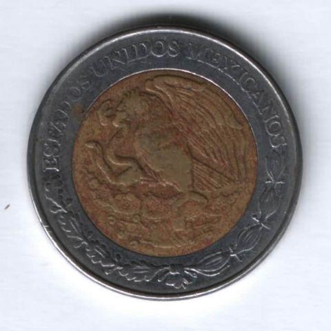 5 песо 1998 г. Мексика