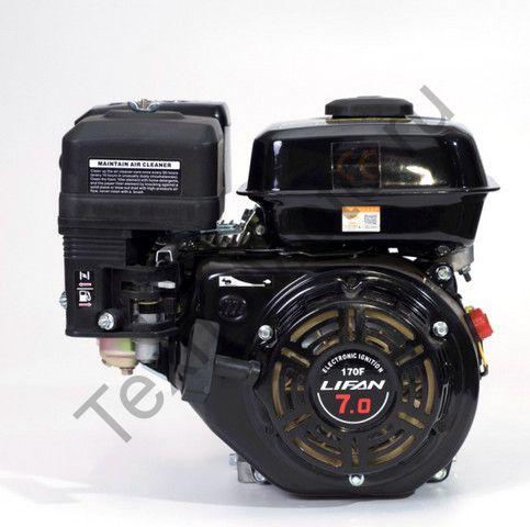 Двигатель Lifan 170F D20 (7,0 л. с.) с катушкой освещения 3Ампер (36Вт)