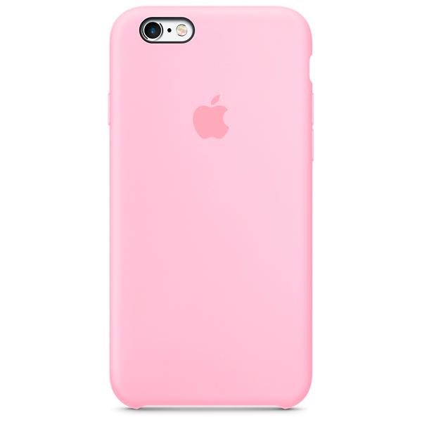 Cиликоновый чехол Apple   для iPhone 6/6s Pink