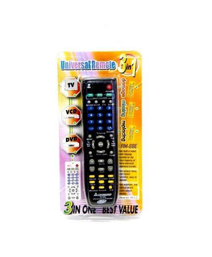 ТВ пульт универ. 3 в 1 (универсальный)
