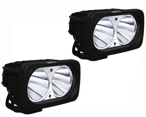 Комплект Светодиодных фар (2шт.) Optimus: XIL-OP220 черный