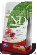 N&D Cat Grain Free Chicken & Pomegranate Neutered Беззерновой корм для стерилизованных взрослых кошек, курица/гранат (5 кг)