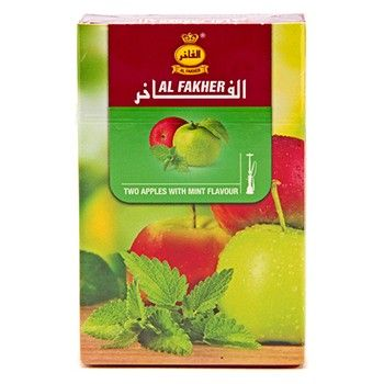 Al Fakher Two Apples Mint