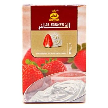 Al Fakher Strawberry with Cream