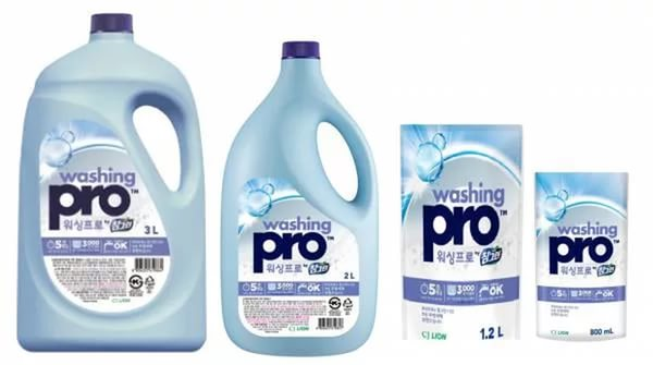 CJ Lion Средство для мытья посуды Washing Pro, мягкая упаковка, 800 мл
