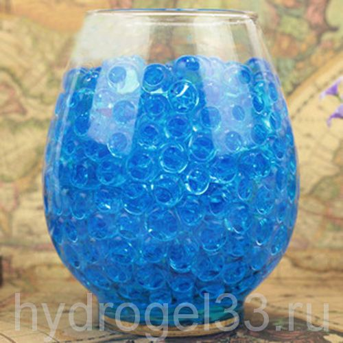 Шарики орбиз 1 см голубые (2000 шт)