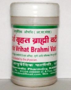 Adarsh Vrihat Brahmi Vati, Адарш Врихат Брами Вати, 10 г