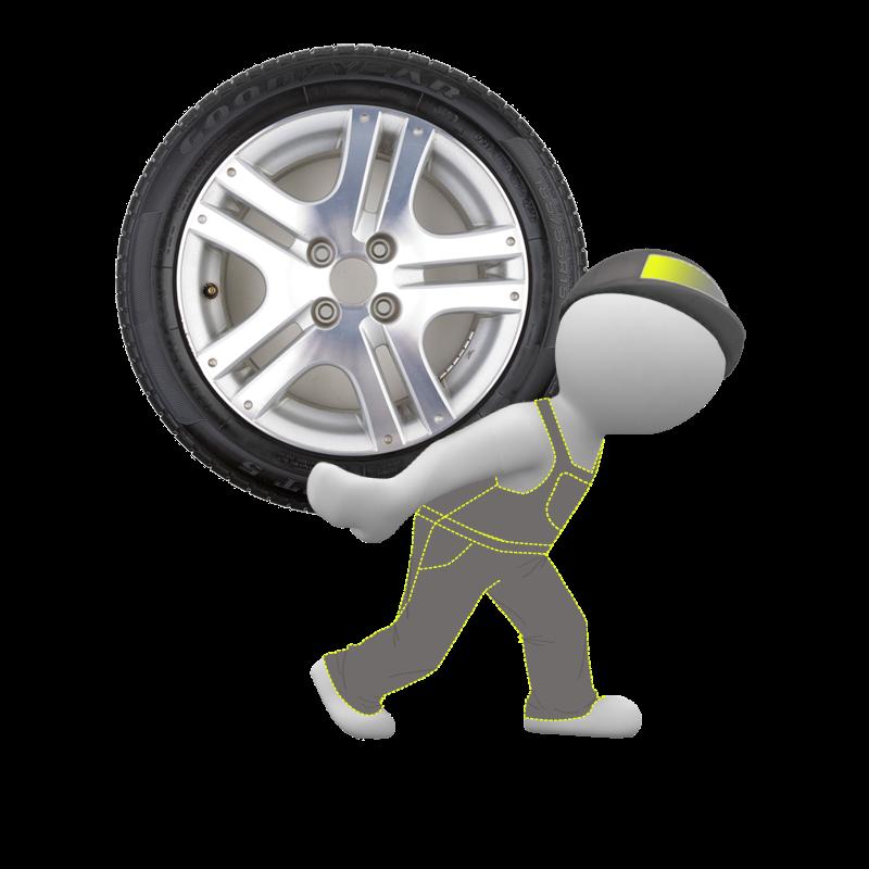 Снятие/установка колеса