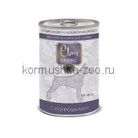 Clan CLASSIC консервы для собак мясное ассорти с потрошками