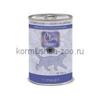Clan CLASSIC консервы для кошек мясное ассорти с птицей