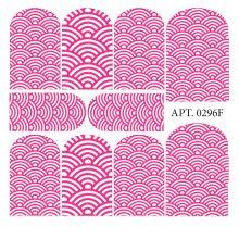 Слайдер-дизайн для ногтей № 0296 Разные цвета