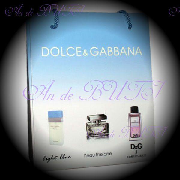 Набор Dolce&Gabbana 3 по 15 ml женский