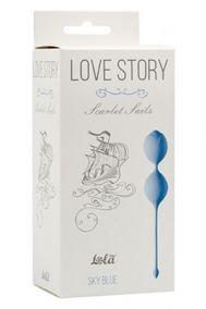 Вагинальные шарики Love Story Scarlet Sails голубые