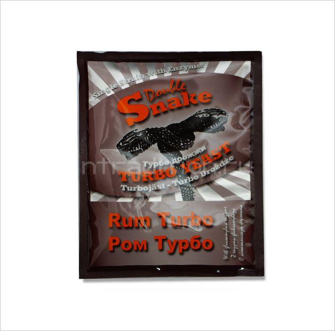 Турбо дрожжи Double Snake Rum Turbo, для рома из мелассы, 70 гр. (Великобритания)