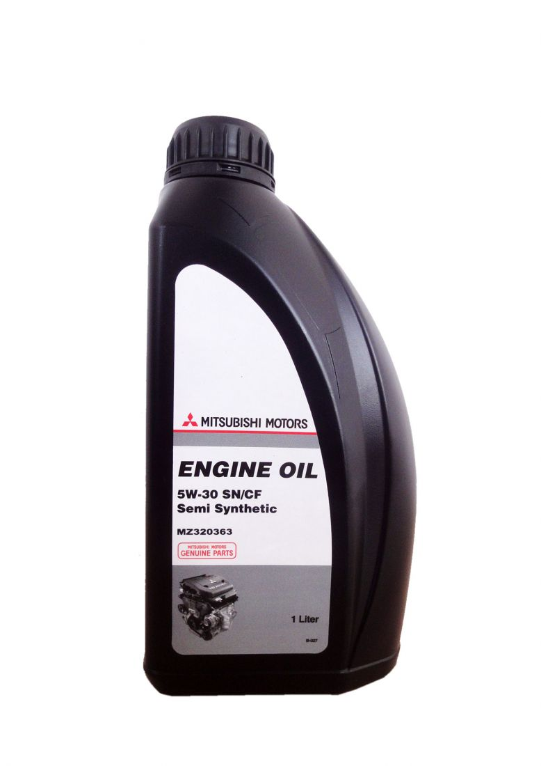Моторное масло MITSUBISHI Engine Oil Semi-Synthetic SN/CF SAE 5W-30 (1л)