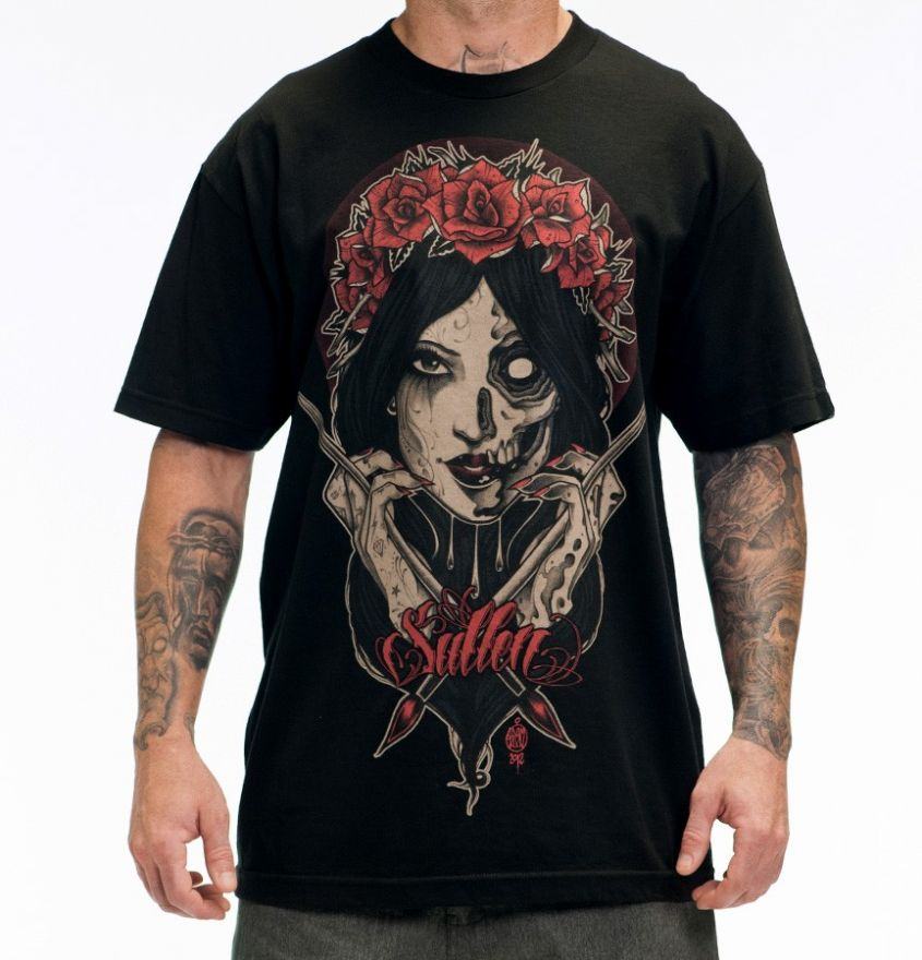 Sullen HERE TODAY Sullen Black Tee Shirt