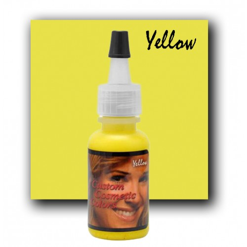 Custom Cosmetic Colors Yellow