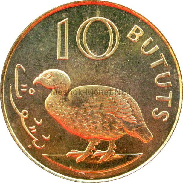 Гамбия 10 бутут 1998 г.
