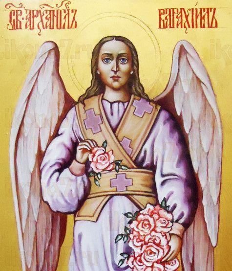 Варахиил Архангел (рукописная икона)