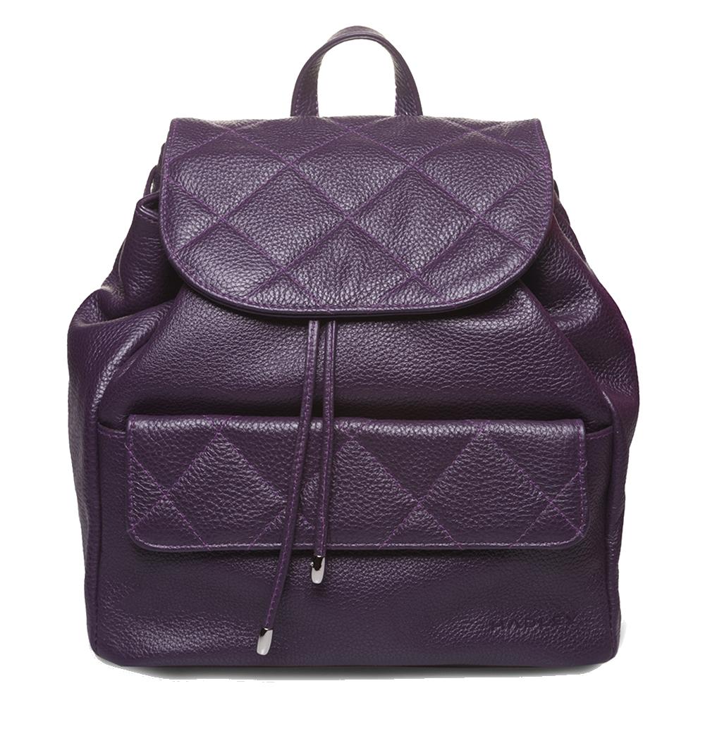 Hadley Biscuit Grape женский кожаный рюкзак