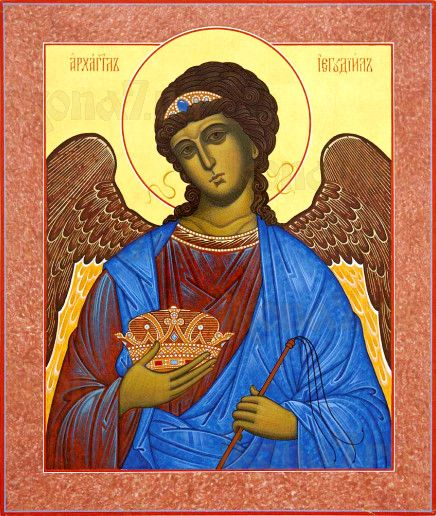 Иегудиил Архангел (рукописная икона)
