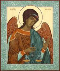Иеремиил Архангел (рукописная икона)