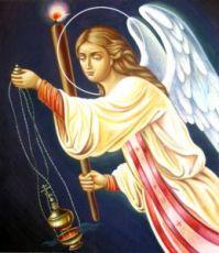 Селафиил Архангел (рукописная икона)
