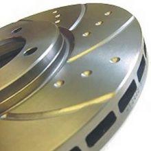 Тормозные диски EBC, серия TurboGroove, задние, V - 1.6 турбо