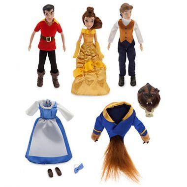 Набор мини кукол Красавица и чудовище Дисней
