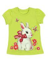 блуза для девочки Кролик