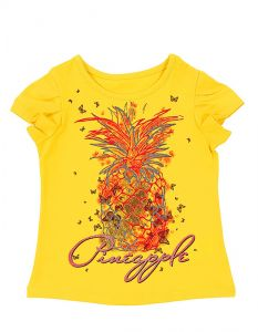 желтая блуза для девочки